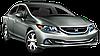 Защита картера двигателя и кпп Honda Civic 2012-
