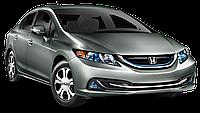Защита картера двигателя и кпп Honda Civic 2012-, фото 1