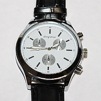 Мужские кварцевые наручные часы (W7) (с ремешком из кож. зама) оптом недорого в Одессе
