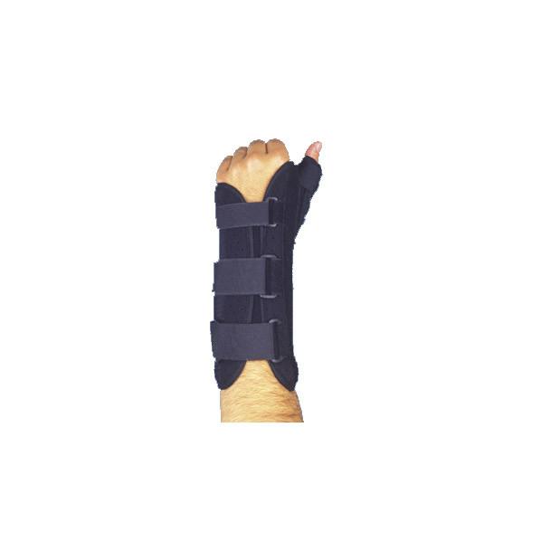 Ортез усиленный для полной фиксации лучезапястного сустава и суставов большого пальца MAXAR