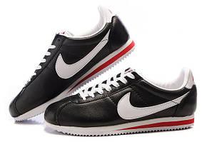 Кроссовки Nike Cortez черно-белые