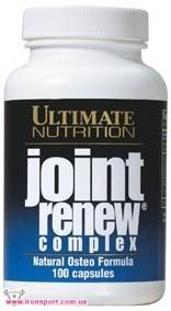 Для суставов и связок Joint Renew Complex (100 капс.) Ultimate Nutrition
