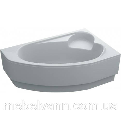 Ванна акриловая асимметричная Leoni правая 170х110х43 с панелью