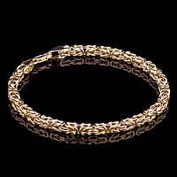Золотой женский браслет из желтого золота