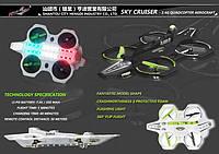"""Радиоуправляемый квадрокоптер UFO """"Корабль Мстителей"""" Sky Cruiser, квадрокоптер на пульте радиоуправления"""