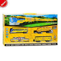 Детская железная дорога HX2012-01, железная дорога игрушка, игрушка поезд, набор железная дорога