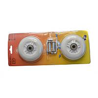 Колеса для Рибстика полиуретановые набор 2 шт. с подшипниками