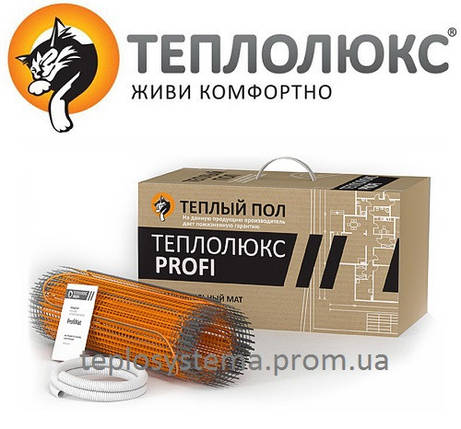 Теплый пол - Мат нагревательный Теплолюкс PМат нагревательный Теплолюкс ProfiMat 120 – 2,5 м2, 300 Вт (Россия), фото 2