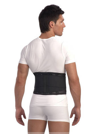 Ортопедический корсет поясничный с4 ребрами жесткости, фото 2