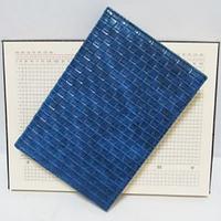 """Ежедневник  недатированный А5 клетка, """"Dark blue skin"""", 0761-15"""