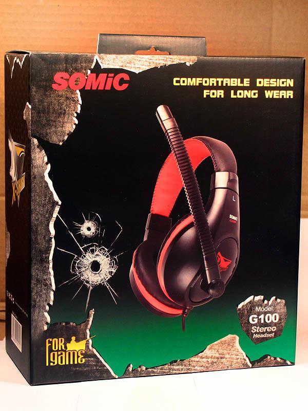 Наушники SOMIC G100