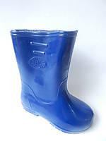 Детские резиновые сапоги 25-30 р.СД-1 синий.