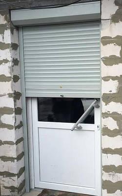 Защитные роллеты на двери Classik