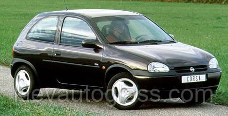 Лобовое стекло на OPEL CORSA B 1993-01 г.в.