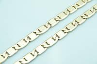 Эксклюзивная ювелирная цепь жгут Xuping 55см. Позолоченные украшения оптом недорого. 30
