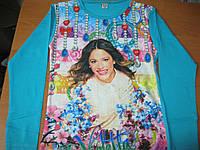 Детская футболка с длинным рукавом  для девочек 128,140, 152, 176 cm Турция