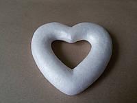 Сердце из пенопласта 13 см
