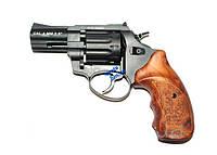 """Револьвер Stalker 2.5"""" чёрный матовый / рукоять под дерево, оружие, револьверы, пистолеты, револьвер под патро"""