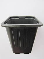 Стаканчик для рассады пластик (квадратный) 7х7х8см.