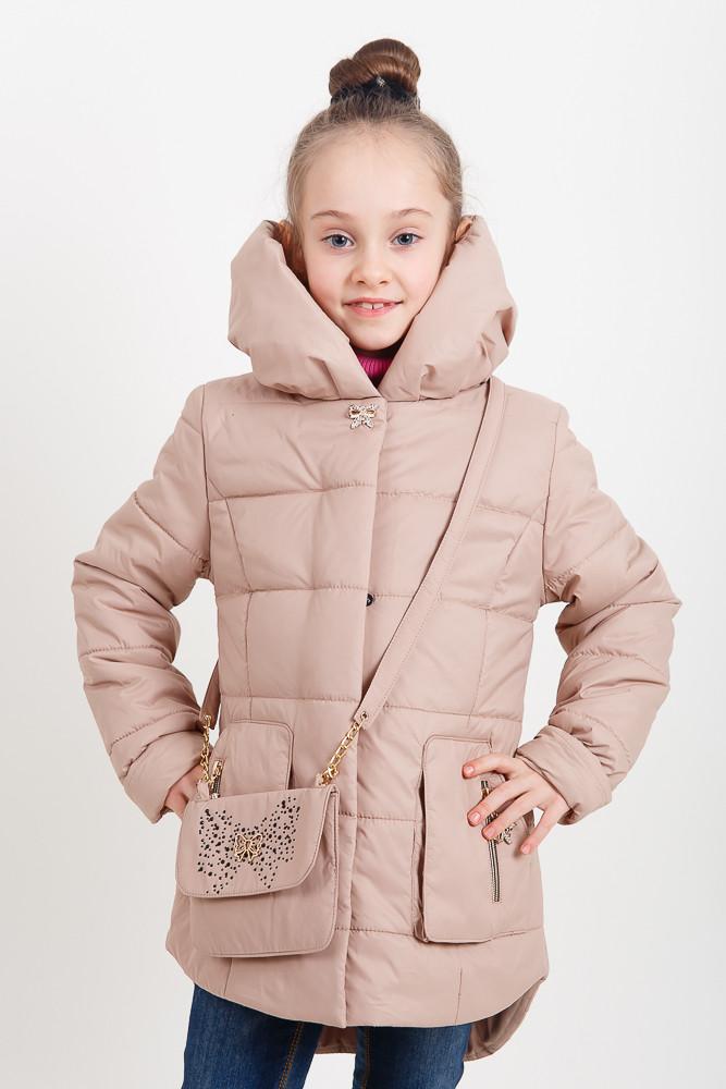 Модная курточка + сумка для девочки