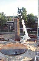 Работы по монтажу резервуаров РВС, РГС, технологических трубопроводов, монтажу всего оборудования( насосные ст
