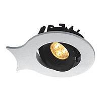 Светодиодный поворотный светильник, собирается в паззл  L90 W106 H50. LED CREE 3W/WW CRI - 90, 366Lm