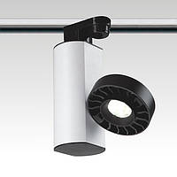 Трековий світлодіодний світильник. Блок живлення в корпусі, потужність 18W, світлодіод - CREE під однофазний