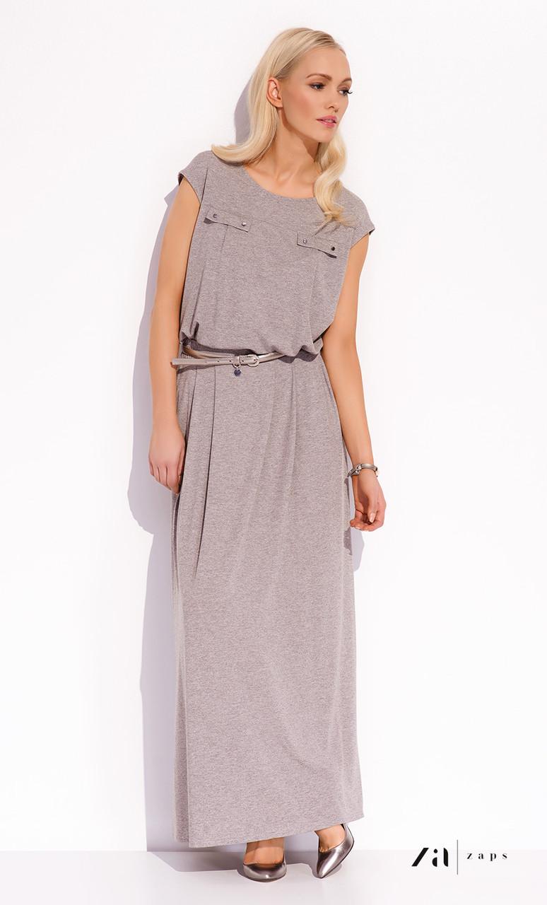 067606829d7 Женская летняя юбка макси цвета капучино. Модель Ida Zaps