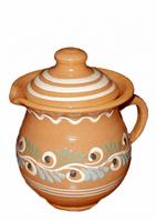Глиняный сметанник