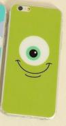 """Силиконовый чехол """"Одноглазик"""" для iphone 5/5S"""