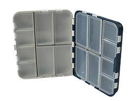 Коробка Aquatech подвійна 2416 (16 осередків з кришками)