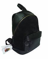 Мини рюкзак кожаный