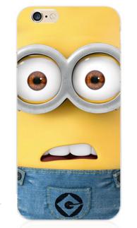 """Силиконовый чехол """"Миньон"""" для iphone 5/5S"""