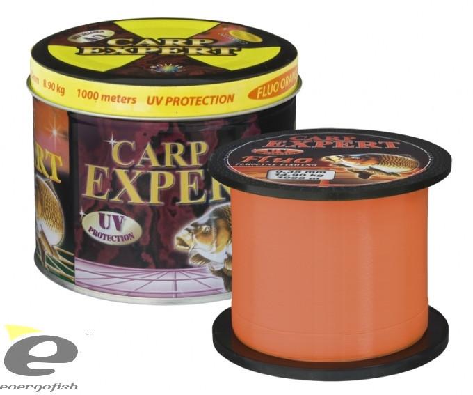 Леска Carp Expert Fluo Orang 0.30mm 1000m