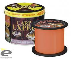 Леска Carp Expert Fluo Orang 0.25mm 1000m