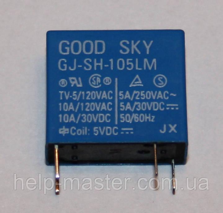 Електромеханічне Реле GJ-SH-105LM; 5VDC