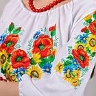 Детская вышиванка Звонкое лето (рукав 3/4), фото 2