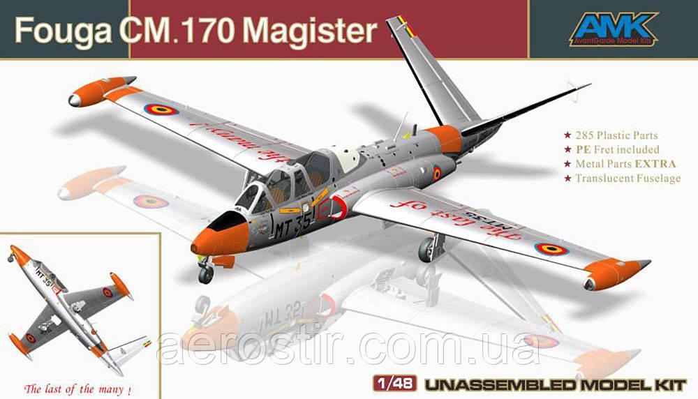 Fouga CM.170 Magister 1:48 AMK