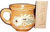 Глиняная чашка