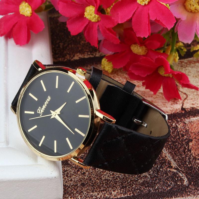 Женские часы Geneva Charm черные