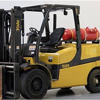 Немецкий газовый вилочный погрузчик 5,5 тонн Yale GLP55VX б/у