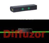 Лазерный указатель TVS двусторонний, зеленый 150mWx2