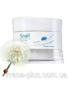 Корейский крем для лица с улиточной слизью и гиалуроновой кислотой Dodo House - 50 мл
