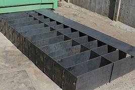 Металлические формы для изготовления блоков