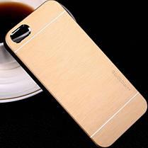Алюминиевый чехол накладка MOTOMO для iPhone 5/5s, фото 2