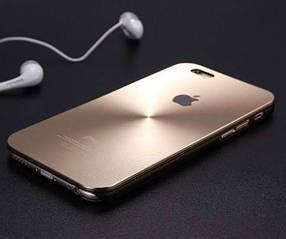 Чехол накладка Luxury Aluminum Alloy для iPhone 5/5s
