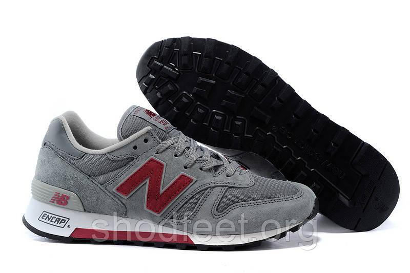 Мужские кроссовки New Balance Grey/Red