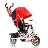 Велосипед детский трехколесный azimut air lamborghini. колеса пена. красный