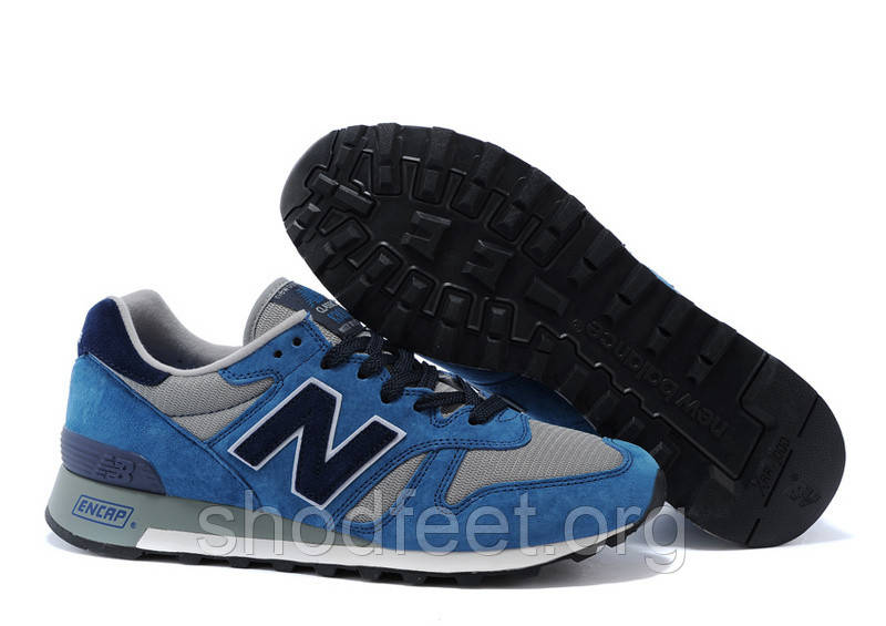 Мужские кроссовки New Balance Blue/Grey/White