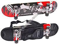 Скейт Hudora с рюкзаком 12171